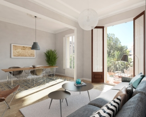 A New Development in the heart of Barcelona. Apartments available. Prices from 334,000 Euros